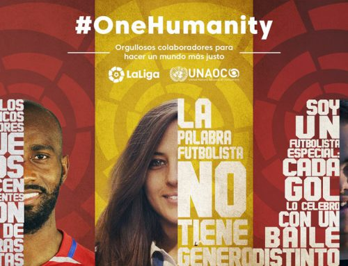 LaLiga unites with UNAOC on ONE HUMANITY campaign to promote global change
